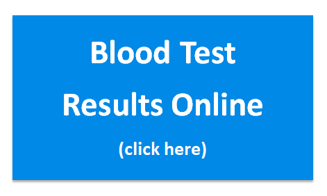 blood test results online